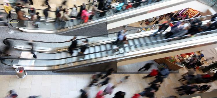 Shopping Mall Escalator