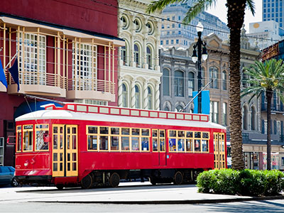 Tramway Nouvelle-Orléans